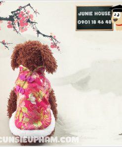 Junie House chuyên cung cấp quần áo cho chó, quần áo chó mèo, đồ chơi cho chó mèo, phụ kiện cho chó mèo, áo tết hồng cho chó mèo... Hotline 0901 18 46 48