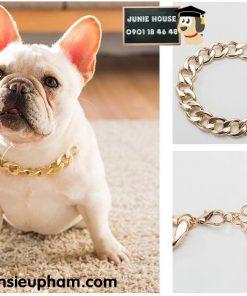 Junie House chuyên cung cấp quần áo cho chó, quần áo chó mèo, đồ chơi cho chó mèo, dây chuyền xích mạ vàng cho chó... Hotline 0901 18 46 48