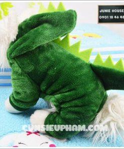 Áo khủng long xanh cho chó mèo nhỏ, lớn   Junie House chuyên cung cấp quần áo cho chó, quần áo chó mèo, đồ chơi cho chó mèo, đồ chơi cá chép cho chó mèo... Hotline 0901 18 46 48