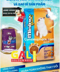 Hạt thức ăn Minion cho mèo   Junie House chuyên cung cấp quần áo cho chó, quần áo chó mèo, đồ chơi cho chó mèo, đồ chơi cá chép cho chó mèo... Hotline 0901 18 46 48