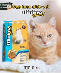 Hạt thức ăn Minino cho mèo   Junie House chuyên cung cấp quần áo cho chó, quần áo chó mèo, đồ chơi cho chó mèo, đồ chơi cá chép cho chó mèo... Hotline 0901 18 46 48