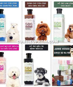 Junie House chuyên cung cấp quần áo cho chó, quần áo chó mèo, đồ chơi cho chó mèo, sữa tắm S.O.S dành cho chó mèo... Hotline 0901 18 46 48