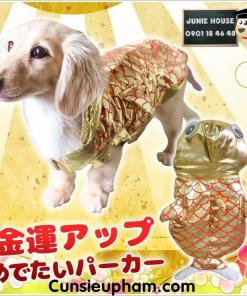 Junie House chuyên cung cấp quần áo cho chó, quần áo chó mèo, đồ chơi cho chó mèo, trang phục cá chép dành cho chó mèo.. Hotline 0901 18 46 48
