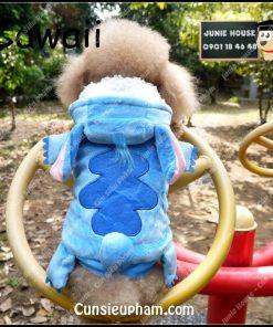 Junie House chuyên cung cấp quần áo, phụ kiện cho thú cưng: Trang phục superman, cướp biển, minions, áo sitich dành cho cún lớn   0901.18.46.48