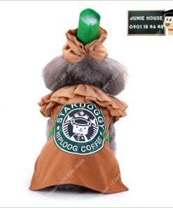 Junie House chuyên cung cấp quần áo, phụ kiện cho thú cưng: Trang phục superman, cướp biển, minions, trang phục stardog chó mèo | 0901.18.46.48