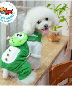 Junie House chuyên cung cấp quần áo, phụ kiện cho thú cưng: Trang phục superman, cướp biển, minions, trang phục ếch xanh cho chó mèo   0901.18.46.48