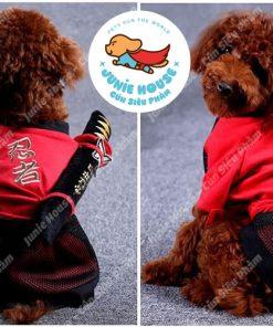 Junie House chuyên cung cấp quần áo, phụ kiện cho thú cưng: Trang phục superman, cướp biển, minions, trang phục kiếm khách dành cho chó mèo
