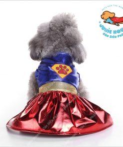 Junie House chuyên cung cấp quần áo, phụ kiện cho thú cưng: Trang phục superman, cướp biển, minions, váy wonderdog dành cho chó mèo | 0901.18.46.48